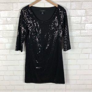 White House Black Market Sequin Dress.